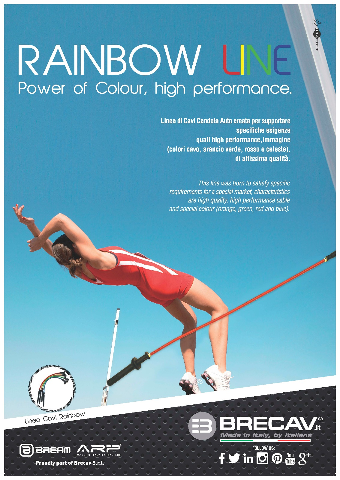 Rainbow LINE – Power of Colour, high performance