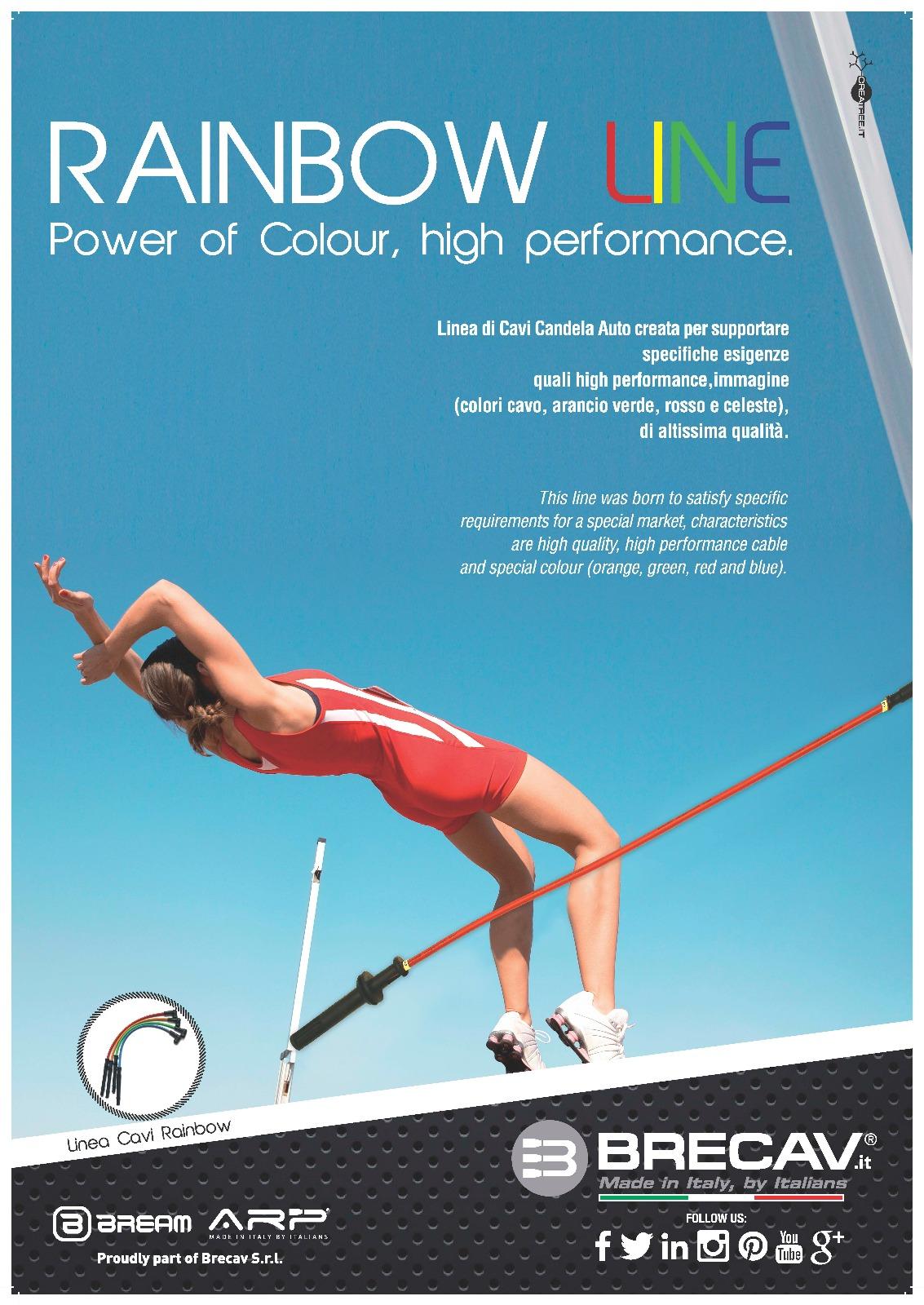 Rainbow LINE – Power of Colour, high performance